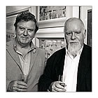 Alan Cotton with Sir Peter Blake RA