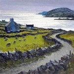 Co. Kerry - The Lane to Dingle Bay