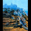 Provence - Gordes in Hazy Light
